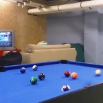 40m2 game room!